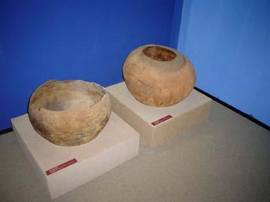 urnas funerárias do Museu do Homem Americano_datam de mais ou menos 3 mil anos_ crédito é Divulgação_DSC00356